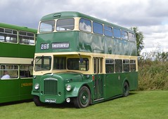 266. GNU 266C: Chesterfield Transport (chucklebuster) Tags: gnu266c chesterfield transport daimler ccg6 weymann
