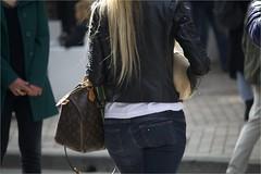 (Massimo Cerrato) Tags: ass back blonds girls louisvuitton street women