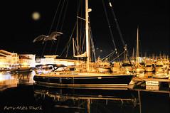 Sa Majeste ... ( P-A) Tags: martigues provenceport voilier beaut nuit repos raffine lgant vacances croisire mer ocan plaisance rgates photos simpa