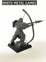 Tower Bowman Chaos Archers (whitemetalgames.com) Tags: tower bowman chaos archers wmg white metal games raleigh nc north carolina commission painting service services hobby