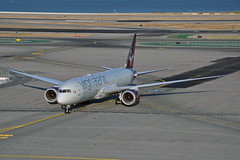 G-VNEW (Rich Snyder--Jetarazzi Photography) Tags: virginatlanticairways virginatlantic virgin vir vs boeing 787 7879 b787 b789 dreamliner gvnew birthdaygirl arriving arrival taxi taxiing sanfranciscointernationalairport sfo ksfo millbrae california ca airplane airliner aircraft jet plane jetliner ramptowera rcta atower
