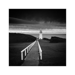 * Towards The Light * (^soulfly) Tags: longexposure victoria australia capeotway lighthouse oldest family vacation canon5dmark2 ef1740m bwfilter nd110 blackandwhite winter
