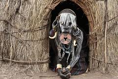 Mursi woman (26) (Prof. Mortel) Tags: ethiopia omovalley mursi