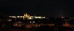 praga, il castello da vyšehrad (violica) Tags: praga prague praha unesco unescoheritage repubblicaceca czechrepublic česko vyšehrad pražskýhrad praguecastle castellodipraga notturno