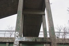 Katsu, Krug (NJphotograffer) Tags: graffiti graff new jersey nj bumtrail riverwalk katsu krug
