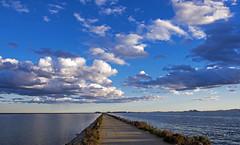 Atardecer en Carr. Camino Quintin (Fotgrafo-robby25) Tags: atardecerenelmarmenor fujifilmxt1 lopagnmurcia marmenor nubes salinasyarenalesdesanpedrodelpinatar