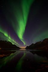 aurora night (John A.Hemmingsen) Tags: auroraborealis arcticlight aurora astronomy autumn ersfjordbotn evening nordnorge northernlights nikond600 zeissdistagon15mm zeiss tromsø troms