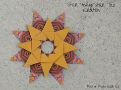 Stern Vicky and Tico Star Variation (esli24) Tags: origamistar star stern origamistern weihnachten christmas ilsez evanzodl mariasinayskaya carmensprung origami papierstern julia schönhuber