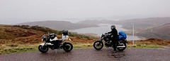 On the way to Ullapool (urbannivag) Tags: northcoast500 scotland adv triumph speedtriple motoguzzi v7 motorbikes adventure touring