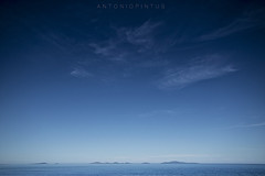 ALL IN BLUE (APINTUS) Tags: mare isole blu cielo blue nuvole
