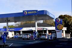 Maxol, Holywood Northern Ireland. (EYBusman) Tags: taxol petrol gas gasoline filling service station garage hollywood northern ireland spar eybusman