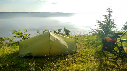 Camping near Flensburg on the Flensborgfjord