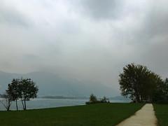 (Paolo Cozzarizza) Tags: italia lombardia lecco oggiono acqua lago panorama alberi prato sentiero