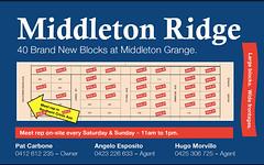 Lot 134 Lores Street, Middleton Grange NSW