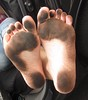 IMG_0837 (Donna Queen pa1971) Tags: feet fetish foot donna toes dirty queen barefoot barefeet filthy soles barefootin