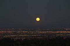 Moon (jdmofo86) Tags: california city sunset moon la losangeles dusk luna moonrise pv palosverdes