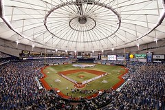 Tropicana Field (crandallbrett) Tags: usa stpetersburg unitedstates baseball fl americanleague nationalleague