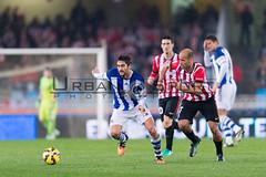 Real Sociedad-Athletic de Bilbao (Ortzi Omeñaka) Tags: españa futbol sansebastian euskadi donostia anoeta week15 realsociedad derbi athleticdebilbao ligabbva markelbergara mikelrico 14122014