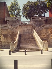 impressive (soulfulpoignant) Tags: france stone french scenery view balcony dramatic stairway staircase roussillon impressive languedoc perpignan francais sweeping languedocroussillon stonestairway stonestaircase stonebalcony sweepingstaircase