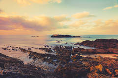 the world through my eyes (pixelmama) Tags: ocean california longexposure sea beach sunrise seashore lagunabeach chasinglight pixelmama