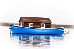 Blakeney Point Boat (KennyDrew) Tags: nature point boat reserve blakeney
