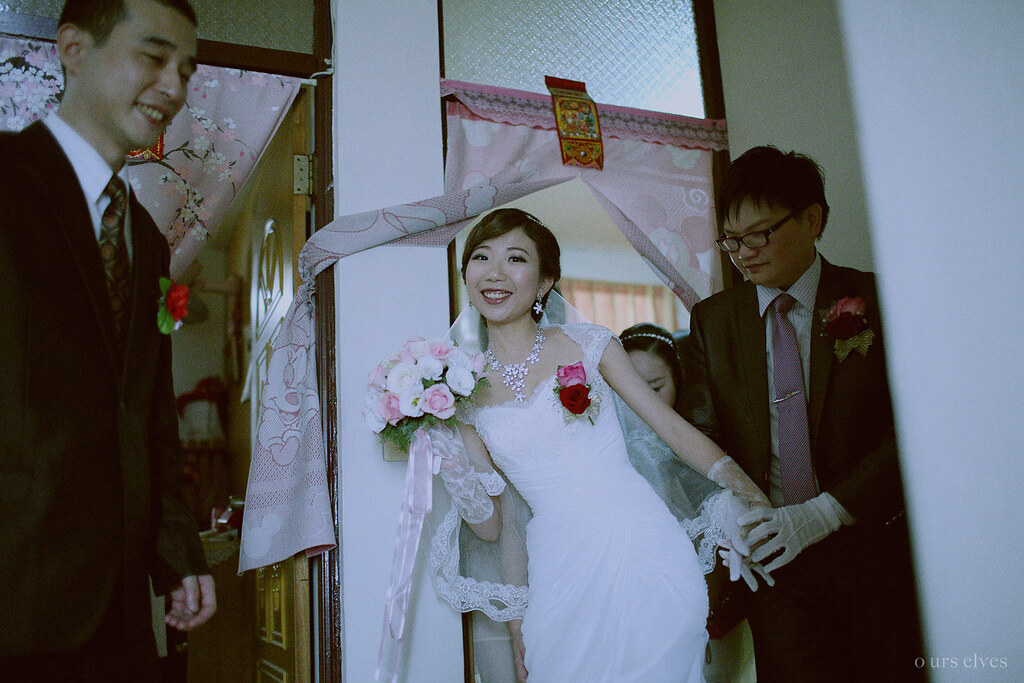 婚禮攝影,底片風格,流水席,婚攝
