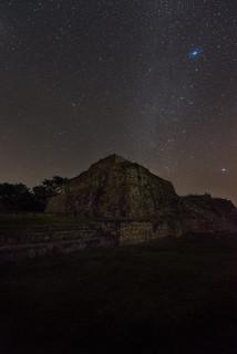 Night Mayan Ruins I