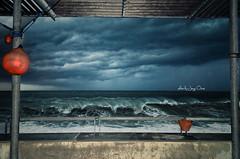 bad weather (Jorge Orezzi) Tags: rain waves genoa genova pioggia onde