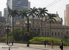 Municipal Theatre of São Paulo - Brasil (Roberto Sant'Anna) Tags: world city cup brasil hall theater fifa paulo sao 2014 rbsantanna