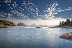 Pacific Fog (memories-in-motion) Tags: blue sea seascape canada nature water fog wall clouds canon landscape iso100 coast meer nebel pacific britishcolumbia natur foggy f10 vancouverisland shipwreck küste kanada 2470mm 27mm tamrom 5dmarkiii
