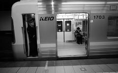 141123_037 (tohru_nishimura) Tags: leica station japan train tokyo cosina shibuya cv keio leicaiiif colorskopar214