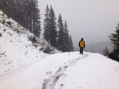 (mrs_grz) Tags: snow alps germany bavaria hiking alpine 4s iphone