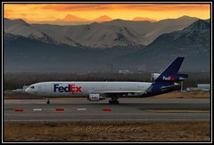 N522FE FedEx Federal Express (Bob Garrard) Tags: express douglas fedex anc federal md11 mcdonnell panc n522fe