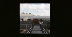 Roof Top (Rich Armitage) Tags: roof max film westminster canon campus university kodak top 400 a1 harrow analouge