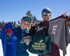 Swagged Out Winners at Snow Summit Opening Day