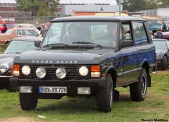Range Rover (Schwanzus_Longus) Tags: old england green english classic car vintage germany 4x4 britain great rover german gb land vehicle british suv range hildesheim technorama offroader