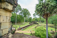 Baphuon (Joerg1975) Tags: lens asia asien cambodia kambodscha khmer sony f90 asie alpha siemreap angkor a7 angkorthom southgate linse objective objektiv baphuon   copyrightprotected   sdtor             sel1018f4 ilce7 sonyilce7