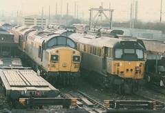 'Dutch' Class 37/0, 37098, Class 31/1, 312