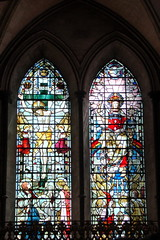 DSC02549 (kluehirschSnowpine) Tags: windows england church cathedral religion stainedglass historic salisbury salisburycathedral stainedglasswindows medievalchurch
