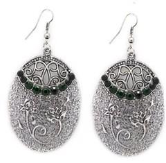 Glimpse of Malibu Green Earrings P5810A-3