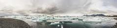 Jkulsrln (Jaime Prez) Tags: panorama lake ice water clouds lago iceland islandia agua nubes iceberg hielo sland jkulsrln