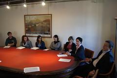 Il Presidente Gherghetta incontra i nuovi Tirocinanti della Provincia (Provincia di Gorizia) Tags: ragazzi tomsic gherghetta tirocini