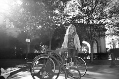 December 29 : Structurally Sound (RachelBrandtPhotography) Tags: girl smile bike bicycle climb kid child sandiego joy climbing blond laugh blonde littlegirl bikerack balboapark laught sandiegochildphotographer sandiegochildphotography sandiegofamilyphotography sandiegofamilyphotographer