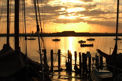 Rigging (amanda.parker377) Tags: england boats essex rigging eveninglight moorings burnhamoncrouch