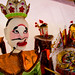 Fou du roi. Festival international de marionnettes, Chiang Mai, Thaïlande