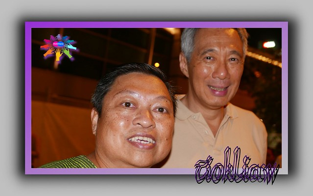 tiokliaw and Singapore PM on 30thDecember 2014