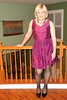 Taylor Berry Cocktail Dress (krislagreen) Tags: pumps dress cd hose tgirl transgender transvestite crossdress tg cocktaildress feminized blackpatent