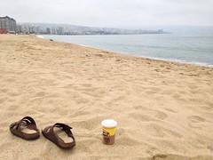 Après-midi à la plage à Viña del Mar