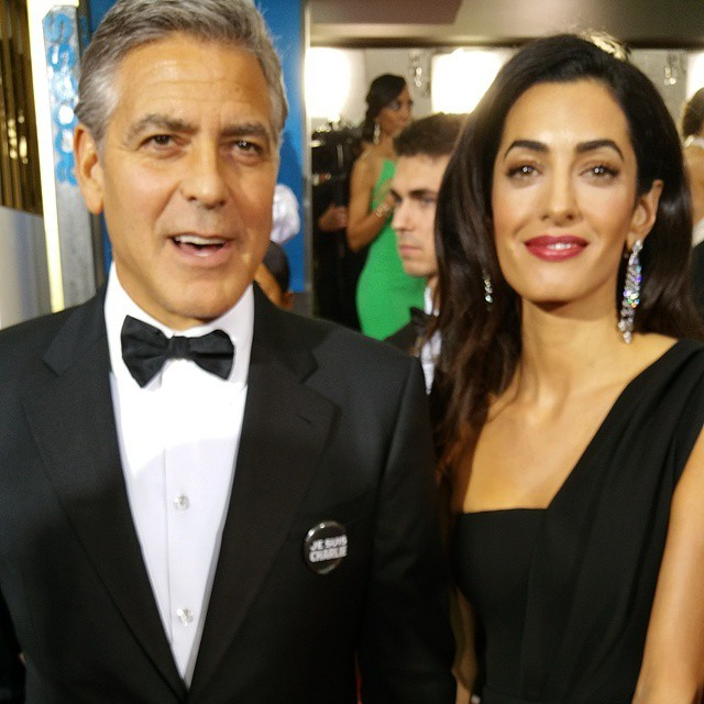 regram @goldenglobes George Clooney and AMAL ALAMUDDIN: Hes our #CecilBDeMilleAward recipient tonight!