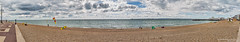 Portsmouth beach panorama (Proper Job Productions) Tags: panorama beach landscape pier south parade portsmouth hdr southparadepier southparade